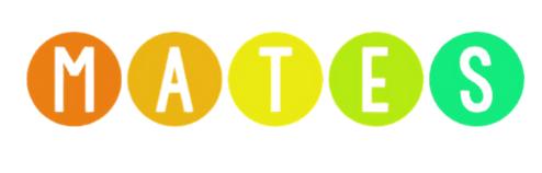 MATES logo stretched