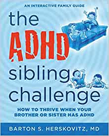 book adhd sibling challenge