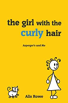 book girl with curly hair