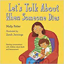 book talk about someone dies
