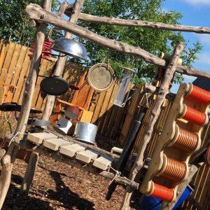 garden sound sculpture