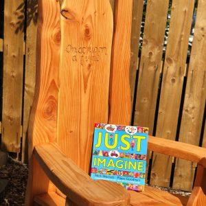 garden Story telling chair